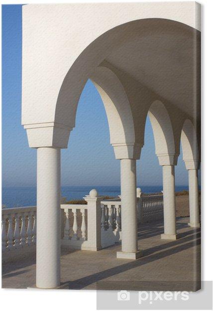 Obraz na płótnie Balkon nad Morzem Egejskim - Europa