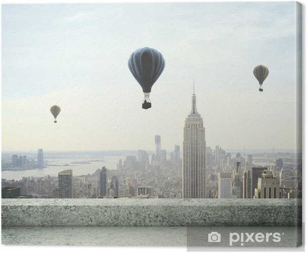 Obraz na płótnie Balon na niebie - Tematy