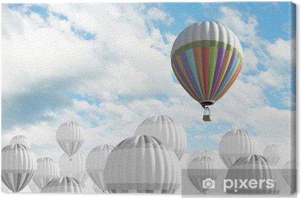 Obraz na płótnie Balon na niebie - Transport powietrzny