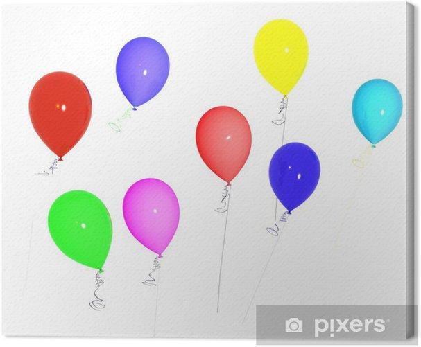Obraz na płótnie Balon - Świętowanie