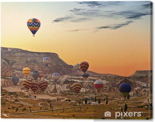Obraz na płótnie Balony latające nad Turcja Kapadocja - Ameryka