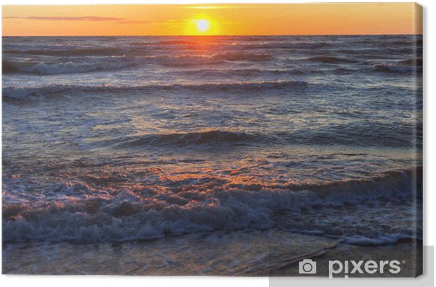 Obraz na płótnie Baltic słońca, - Woda