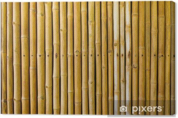 Obraz na płótnie Bambus ogrodzenia - Tematy