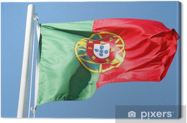 Obraz na płótnie Bandeira portuguesa - Znaki i symbole