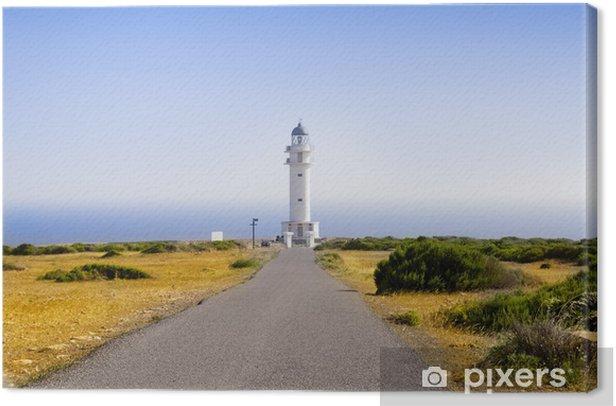 Obraz na płótnie Barbaria latarni Formentera Baleary - Europa