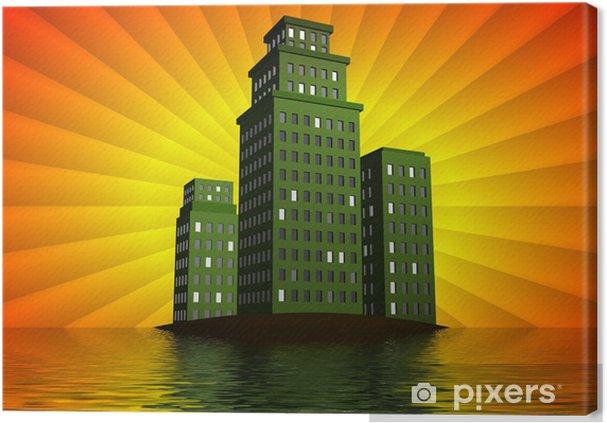 Obraz na płótnie Bardziej ekologicznych budynków - Inne