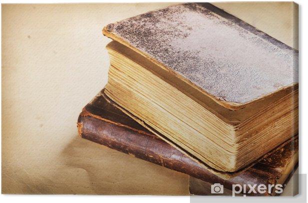 Obraz na płótnie Bardzo stary zbliżenie Book - Tekstury