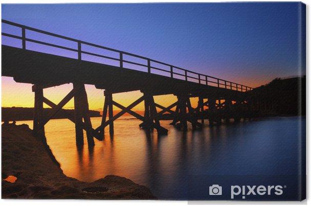 Obraz na płótnie Bare molo most na wyspie - Tematy