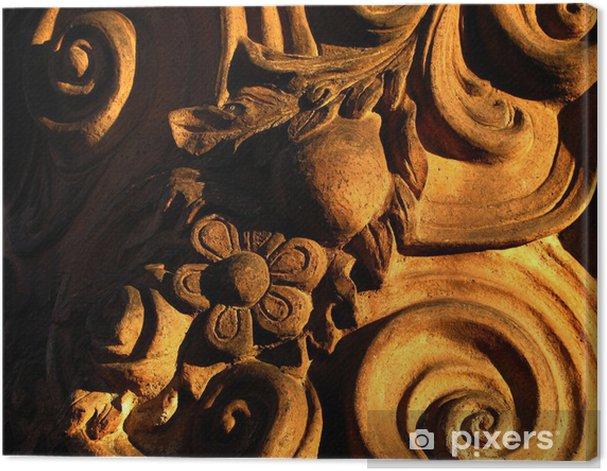 Obraz na płótnie Barokowy stiuk - Sztuka i twórczość