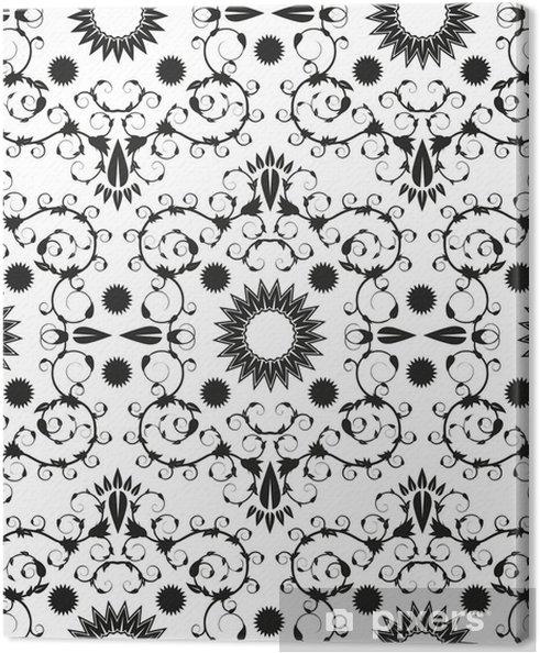 Obraz na płótnie Barokowy szwu ornament geometryczny - Tła