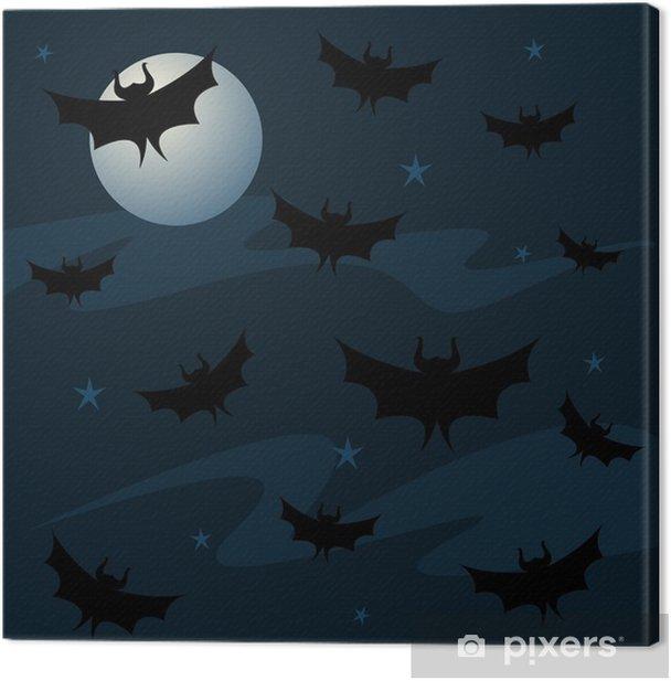 Obraz na płótnie Bat w tle - Święta międzynarodowe