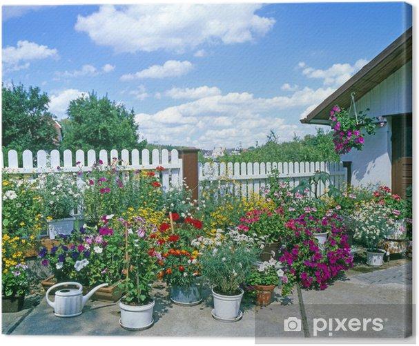 Obraz na płótnie Bauerngarten_212168 - Pejzaż miejski
