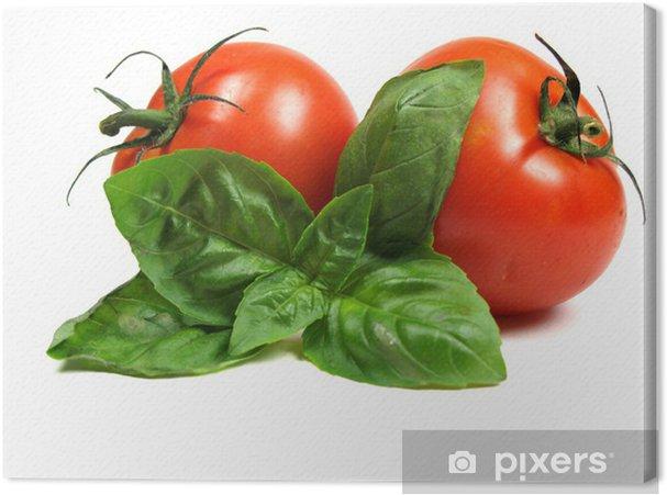 Obraz na płótnie Bazylia i pomidorami - Tematy