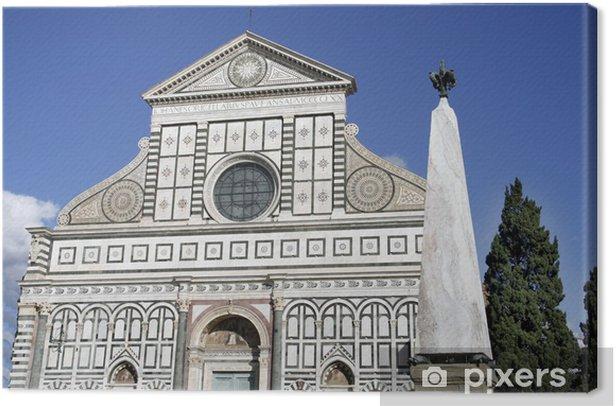 Obraz na płótnie Bazylika Santa Maria Novella we Florencji - Europa