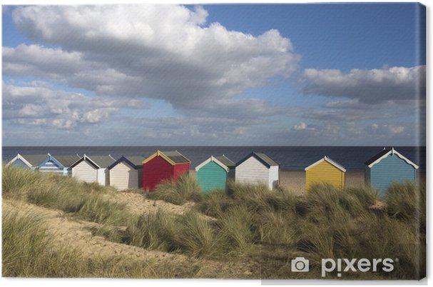Obraz na płótnie Beach Huts, Southwold, Anglia - Wakacje