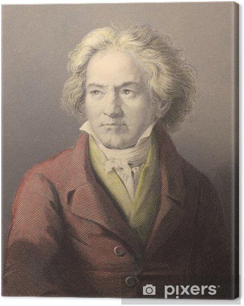 Obraz na płótnie Beethoven - Części ciała