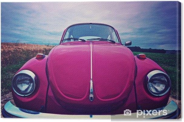 Obraz na płótnie Beetle przednia - kultowy samochód w Niemczech - Transport
