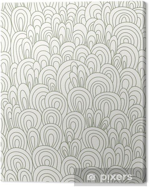 Obraz na płótnie Bez szwu tapety fale - Abstrakcja