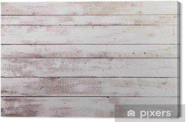 Obraz na płótnie Białe deski drewniane z tekstury jako tła - Tematy