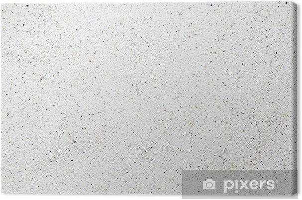 Obraz na płótnie Biały cement ściana z małym skały na powierzchni, grunge. - Tekstury