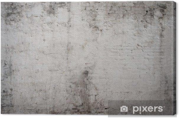 Obraz na płótnie Biały cement szary starego rocznika grunge wieku ulica zardzewiały szorstka - Tekstury