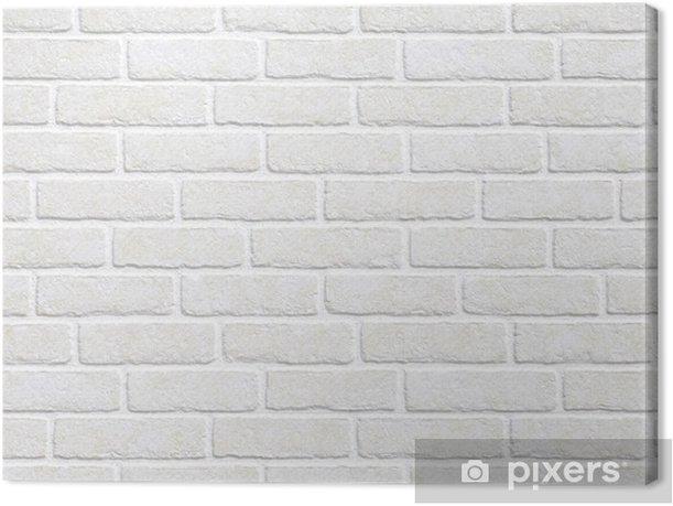 Obraz na płótnie Białym tle ceglanego muru - Tematy