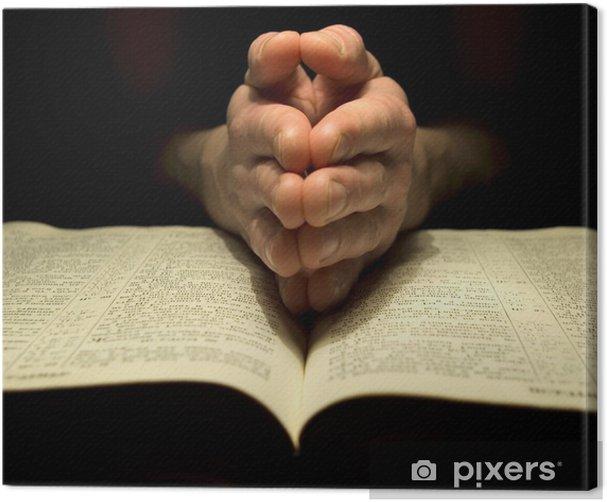 Obraz na płótnie Biblia - Części ciała
