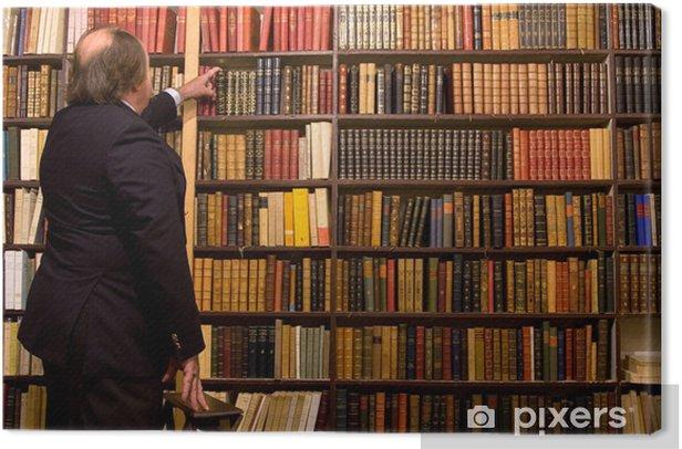 Obraz na płótnie Biblioteka - Budynki użyteczności publicznej