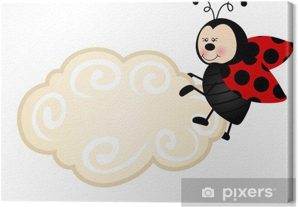 Obraz na płótnie Biedronka Chmura Wytwórnia - Świętowanie