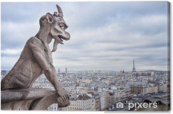 Obraz na płótnie Blick auf Notre Dame w Paryżu ceny - Tematy