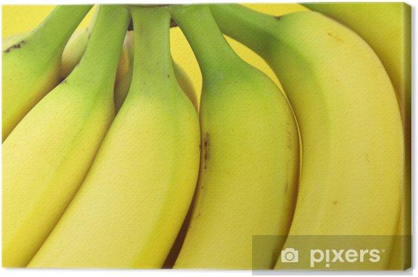 Obraz na płótnie Bliska obraz dojrzałych bananów - Tematy
