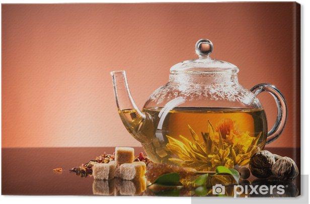 Obraz na płótnie Blooming Tea - Posiłki