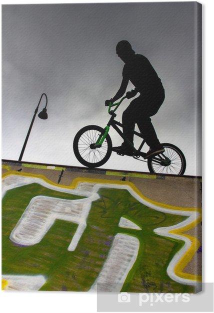 Obraz na płótnie Bmx rider - Sporty indywidualne