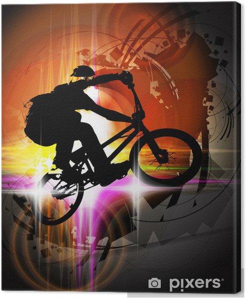 Obraz na płótnie BMX rowerzysta - Kolarstwo