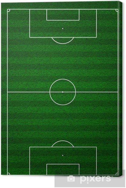 Obraz na płótnie Boisko do piłki nożnej - Tła