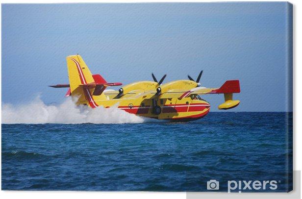 Obraz na płótnie Bombardier d eau - Transport powietrzny