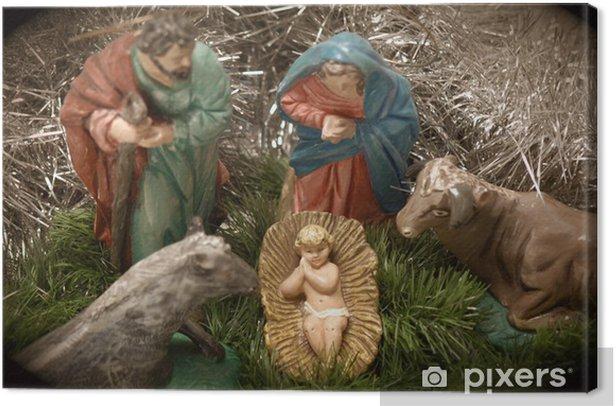 Obraz na płótnie Boże Narodzenie Portal de Belen - Święta międzynarodowe