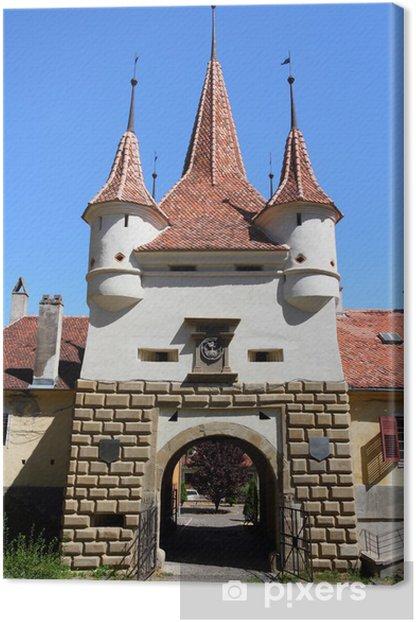 Obraz na płótnie Brasov, Rumunia - Brama Katarzyny - Zabytki