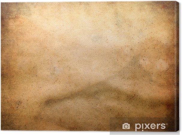 Obraz na płótnie Brązowy papier tekstury dirty - Tekstury