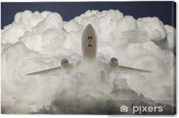 Obraz na płótnie Breakthrough - Transport powietrzny