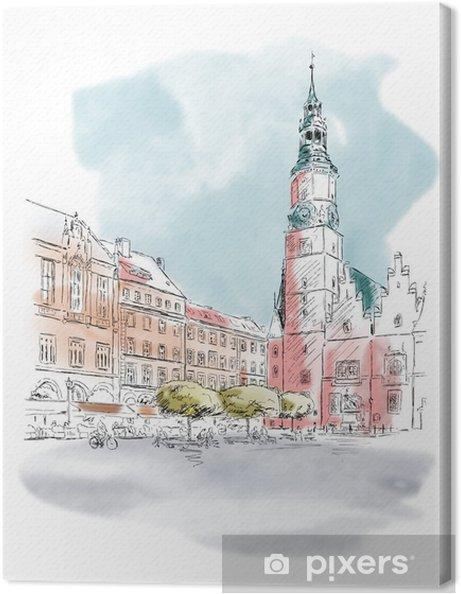 Obraz na płótnie Breslau-Wrocław - Tematy
