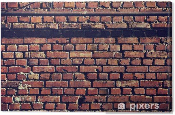 Obraz na płótnie Brick tekstury tła ściany - Tekstury