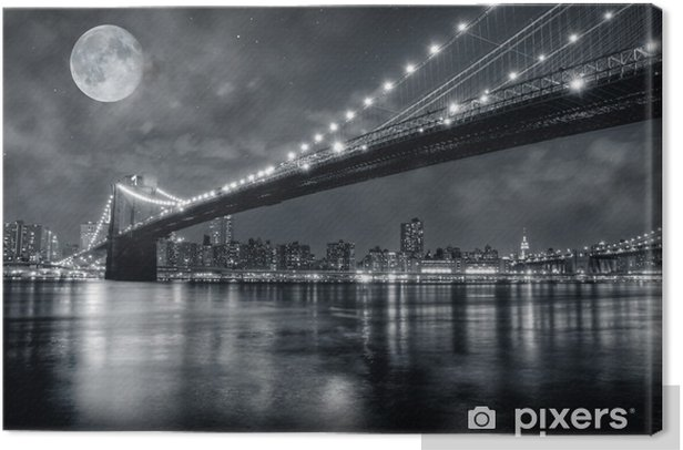 Obraz na płótnie Brooklyn Bridge -