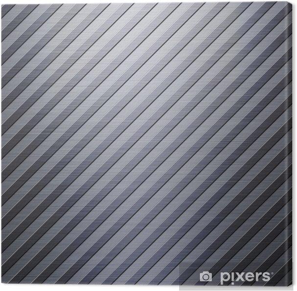 Obraz na płótnie Brushed i paski blacha aluminiowa - Surowce