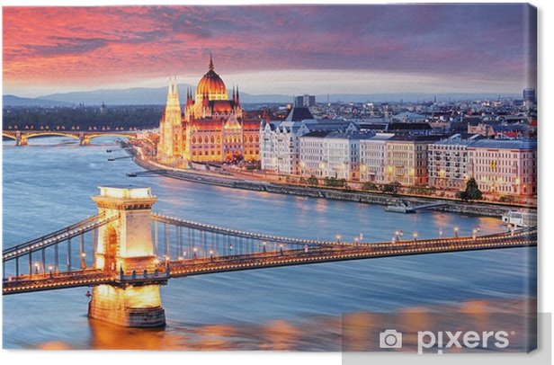 Obraz na płótnie Budapeszt, Węgry - Krajobrazy