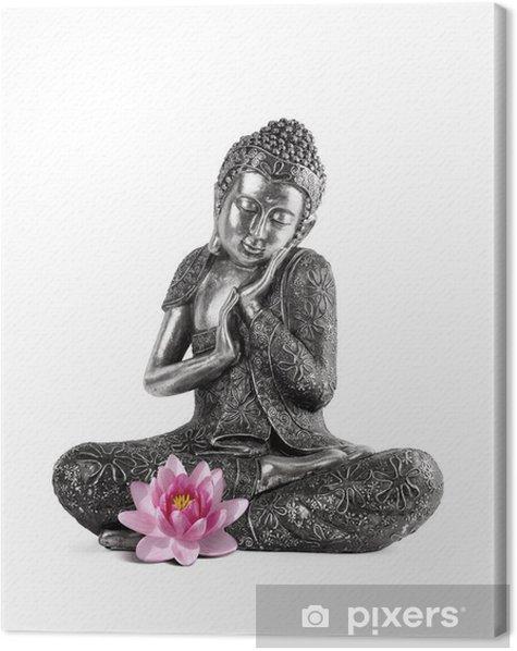 Obraz na płótnie Budda i spokój - Naklejki na ścianę