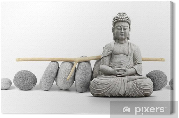 Obraz na płótnie Budda i wellness - Style