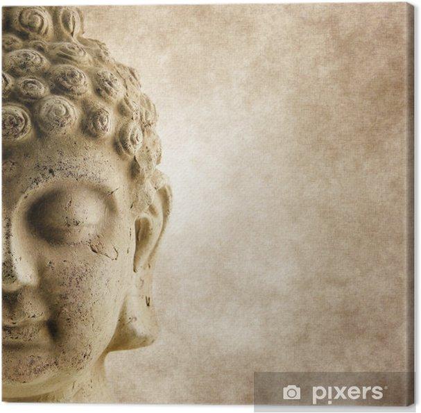 Obraz na płótnie Buddha Grunge twarzy - Tematy