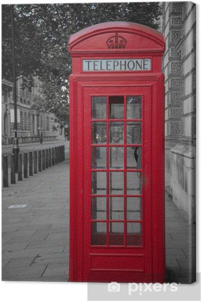 Obraz na płótnie Budka telefoniczna w Londynie - Tematy