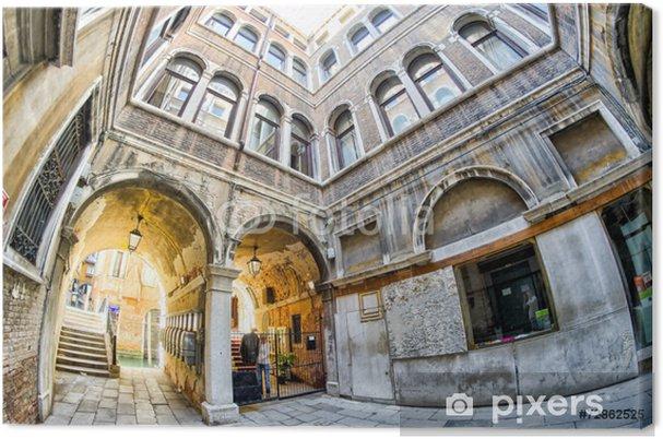 Obraz na płótnie Budynki w Wenecji, Włochy - Miasta europejskie